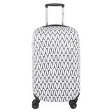 Delsey Luggage Cover ผ้าคลุมกระเป๋า Tn Exp Suitcase Cover S M Multicolor เป็นต้นฉบับ