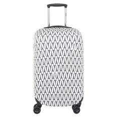 ราคา Delsey Luggage Cover ผ้าคลุมกระเป๋า Tn Exp Suitcase Cover S M Multicolor Delsey