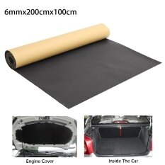 ราคา Details About 1Mx2M Roll 6Mm Car Sound Proofing Deadening Van Closed Cell Insulation Foam Mat Intl