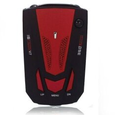 ราคา Detection Voice Alert Car Anti Radar Detector For Car Speed Limited Red Intl เป็นต้นฉบับ