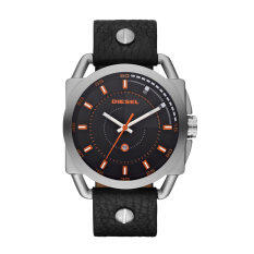 ขาย ซื้อ Diesel นาฬิกาผู้ชาย สายหนัง รุ่น Dz1578 Black