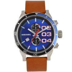 Diesel Dz4322 นาฬิกาข้อมือผู้ชาย สายหนัง สีน้ำตาล Diesel ถูก ใน ไทย