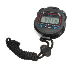 ขาย Digital Handheld Lcd Chronograph Timer Sports Stopwatch Counter Stop Watch Alarm ออนไลน์ ใน Thailand