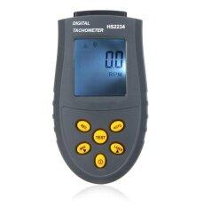 ซื้อ Digital Laser Tachometer Lcd Rpm Test Small Engine Motor Speed Gauge Non Contact Intl จีน