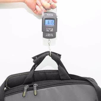 Digital Scale 50 kg Hook เครื่องชั่งน้ำหนัก อเนกประสงค์ ที่ชั่งแบบแขวน ชั่งของเหลวที่ชั่งกระเป๋า เครื่องชั่งกระเป๋า กระเป๋าเดินทาง ชั่งน้ำหนักดิจิตอลไฟฟ้า