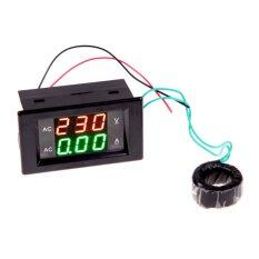 ราคา ดิจิตอลโวลต์มิเตอร์โวลต์มิเตอร์วัดแบตเตอรี่แอมป์แอมป์ 100 เป็น 300โวลต์ 200 Amps สีดำ ออนไลน์ จีน