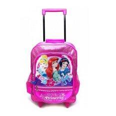 โปรโมชั่น Disney Princess กระเป๋าเป้ล้อลาก ลายการ์ตูน Pnc 9373 Disney Princess