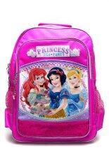 ราคา Disney Princess กระเป๋าเป้ใบใหญ่ รุ่น Pnc 9392 ลายการ์ตูน สีชมพู ถูก