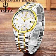 โปรโมชั่น Dita Men Watches นาฬิกาข้อมือสุภาพบุรุษ สายสแตนเลส Mj023 ถูก