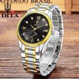ขาย Dita Men Watches นาฬิกาข้อมือสุภาพบุรุษ สายสแตนเลส Mj024 Dita เป็นต้นฉบับ