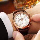 ราคา Dita Quartz Waterproof Arabic Digits หรูหรานาฬิกาข้อมือ สายหนัง กันน้ำ รุ่น Lp02 White ราคาถูกที่สุด