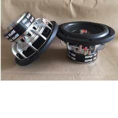 Dk X Loudness ลำโพงซับวูฟเฟอร์ Subwoofer 10 นิ้ว โครงหล่อชุปChome 1000W Dk X Loudness Dk 1003 Mt156 20 2Vc2 5 4 4Ohm 1000W Max เป็นต้นฉบับ