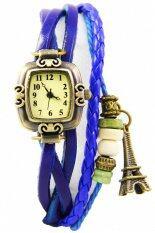 ขาย ซื้อ Dm นาฬิกาข้อมือผู้หญิง รุ่น Paris Vintage สายหนังสีน้ำเงิน กรุงเทพมหานคร