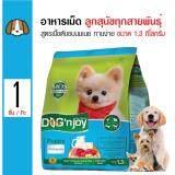 โปรโมชั่น Dog N Joy อาหารเม็ดสุนัข สูตรเนื้อวัวตับอบนมเนย ทานง่าย สำหรับลูกสุนัขทุกสายพันธุ์ ขนาด 1 3 กิโลกรัม