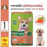 ราคา Dog N Joy อาหารเม็ดสุนัข สูตรเนื้อปลาแซลมอน บำรุงผิวหนังและขน สำหรับสุนัขโตทุกสายพันธุ์ ขนาด 20 กิโลกรัม ที่สุด