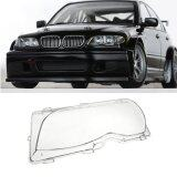ขาย ซื้อ Driver Side Left Headlight Clear Lens Plastic Cover For Bmw E46 4 Dr 01 05 Intl ใน จีน