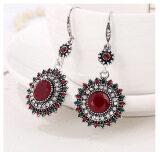 ซื้อ Drop Earrings Ethnic Vintage Sun Flower Bohemia Dangle Earrings Statement Women Jewelry Red Intl ใหม่ล่าสุด