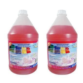 DShow น้ำยาซักผ้า กลิ่นพิงค์เซนต์ ดีโชว์ ขนาด 3800ml แพ็คคู่