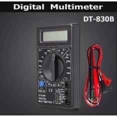 ราคา Dt 830B Lcd Digital Multimeter Ac Dc 750 1000V Amp Volt Ohm Tester Meter Black Intl Gateway เป็นต้นฉบับ