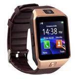 ซื้อ Dz09 Smart Watch นาฬิกาข้อมืออัจฉริยะ หน้าจอสัมผัส Bluetooth สำหรับ Android และ Ios สีทอง ถูก