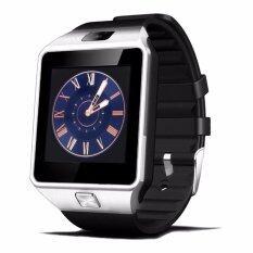ขาย Dz09 Smart Watch Bluetooth Touch Screen สำหรับ Android และ Ios Silver สีดำ Dz09 ผู้ค้าส่ง