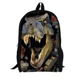 ขาย Eachgo New Sch**l Term Gift Novelty Cool 3D Mouth Opening Dinosaur Printing Backpack Children Kids Schoolbag Satchel Intl ราคาถูกที่สุด