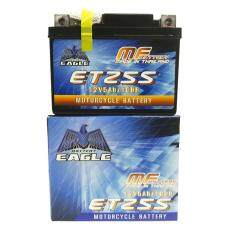 Eagle แบตเตอรี่แห้ง Etz-5s (5 แอมป์) สำหรับมอเตอร์ไซค์ ใช้กับจักรยานยนต์สตาร์ทมือได้.