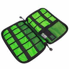Earphone Digital Usb Cable Pen Travel Insert Storage Organizer Bag Portable เป็นต้นฉบับ