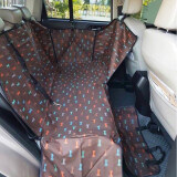 ซื้อ เบาะคลุมรถยนต์สำหรับสุนัข แผ่นรองกันเปื้อนสำหรับสุนัขในรถยนต์ แผ่นรองกันเปื้อนเบาะรถยนต์สำหรับสุนัข ผ้าคลุมสำหรับเบาะหลังรถเก๋ง รถ Suv Dog บราวน์ ออนไลน์