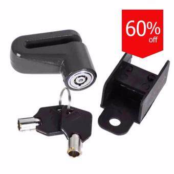 Eaze กุญแจกันขโมย ล๊อก/ล๊อคดิสเบรก LockDisc-01R (Black)