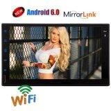โปรโมชั่น Eincar 7 Android 6 Os With Capacitive Touch Screen Gps Car Stereo Universal Double 2 Din Head Unit Support Bluetooth Connection Phone Mirroring Wifi 3G 4G Usb Sd Obd Cam In Fm Am Rds Radio Car Receiver Intl ใน ฮ่องกง