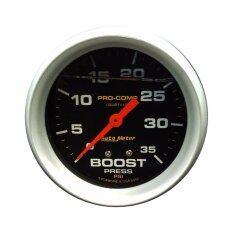 เกจวัดบูส Boost เทอร์โบ Autometer หน้าน้ำมัน ดำ 2 5นิ้ว 3 5Psi กรุงเทพมหานคร