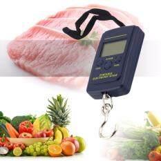 ขาย ซื้อ เครื่องชั่งน้ำหนัก เครื่องชั่งกระเป๋า ดิจิตอล แบบพกพา Electronic Luggage Scale Blacklight 40Kg 10G Thailand