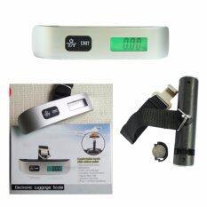 ขาย เครื่องชั่งน้ำหนักมือถือ ตาชั่งพกพา ตาชั่ง กระเป๋า กระเป๋าเดินทาง เครื่องชั่งกระเป๋าเดินทาง 50Kg 10G Electronic Portable Luggage Scale