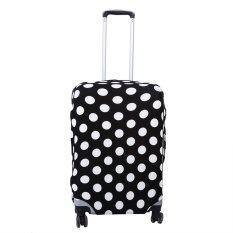ซื้อ Elastic Dust Proof Travel Suitcase Protective Cover Luggage Protector Dots S Intl ใหม่ล่าสุด