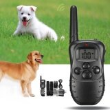 ขาย ซื้อ Electric Dog Stop Barking Anti Bark Lcd Transmitter 2 Collar Remote Training Kit Intl ใน จีน