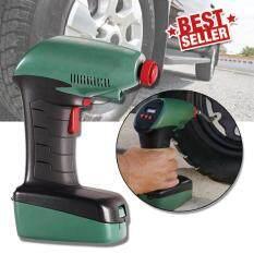 ราคา Elit เครื่องเติมลมยางอัตโนมัติ ปั๊มลมไฟฟ้า ตัดอัตโนมัติ Air Dragon Digital Portable Air Compressor Car Pump 12V