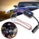 ซื้อ Sinlin ตัวรับสัญญาณวิทยุรถยนต์ เสาอากาศรับสัญญาณวิทยุ 12V Car Automobile Radio Signal Amplifier Ant 208 Auto Fm Am สีดำ