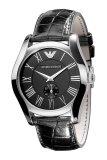 ขาย Emporio Armani นาฬิกาข้อมือผู้ชาย สายหนัง รุ่น Ar0643 Black ถูก กรุงเทพมหานคร