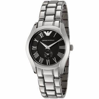 Emporio Armani AR0681 Charcoal Grey Dial Stainless Steel