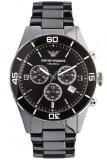 ขาย Emporio Armani นาฬิกาข้อมือผู้ชาย สายเซรามิก รุ่น Ar1421 Black เป็นต้นฉบับ