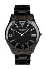 ราคา Emporio Armani นาฬิกาข้อมือผู้หญิง สายเซรามิก รุ่น Ar1441 Black ใน กรุงเทพมหานคร