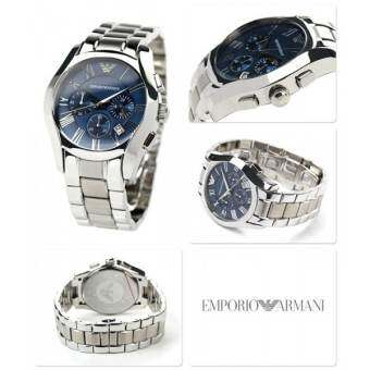 Emporio Armani AR1635 Classic Blue Chronograph Watch