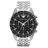 ราคา Emporio Armani นาฬิกาข้อมือผู้ชาย สายสแตนเลส รุ่น Ar5988 Silver