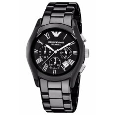 ขาย Emporio Armani Chronograph Black Dial Black Ceramic Men S Watch Ar1400 ราคาถูกที่สุด