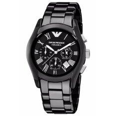 ขาย Emporio Armani Chronograph Black Dial Black Ceramic Men S Watch Ar1400 ออนไลน์