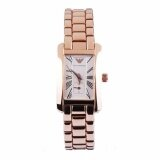 ทบทวน ที่สุด Emporio Armani Classic White Dial Rose Gold Tone Ladies Watch Ar0174