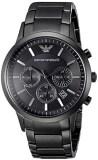 ทบทวน Emporio Armani Men S Ar2453 Classic Stainless Steel Black Watch Emporio Armani