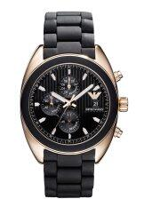 ขาย Emporio Armani Men S Ar5954 Black Chronograph Dial Watch Emporio Armani
