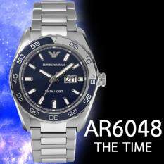 ราคา Emporio Armani Mens Ar6048 Armani เป็นต้นฉบับ